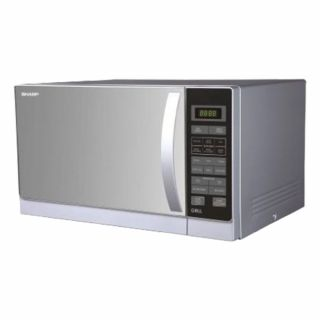 Sharp (25 Ltr.) Grill+Microwave Oven R-72A1-SM-V