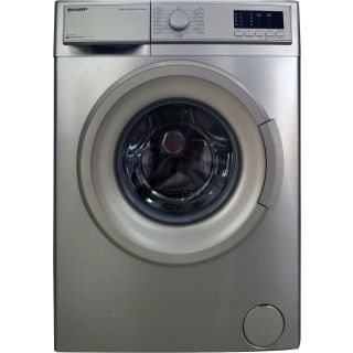 Sharp 8kg (ES-FE812CX-S) Fully Automatic Front Loading Washing Machine  at MK Electronics -2