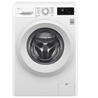 LG 8kg (F4J5TNP3W) Front Loading Fully Automatic Washing Machine