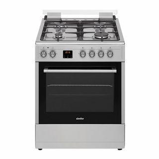 Simfer 6060GS 60X60 Freestanding 4 Burner With Gas Oven at MK Electronics -1
