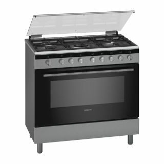 Siemens Freestanding 5 Burner With Gas Oven (HG2I1TQ50M)