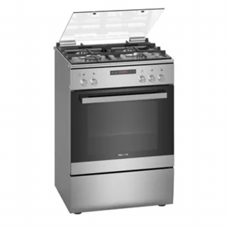 Siemens Freestanding 4 Burner With Gas Oven (HG2M30E50M)