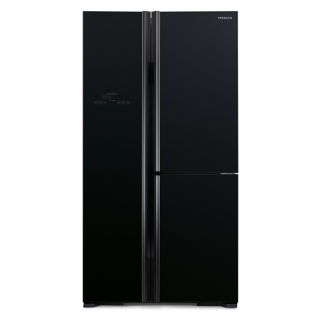 Hitachi 589Ltr. (RS700GPUK2/C2 GBK) Non-Frost Side-By-Side Inverter Refrigerator