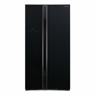 Hitachi 605Ltr. (RS700EUK8-GBK) Non-Frost Side by Side Refrigerator