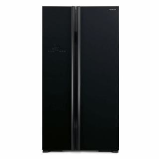 Hitachi 605Ltr. (RS800P2PB GBK) Non-frost Side by Side Refrigerator