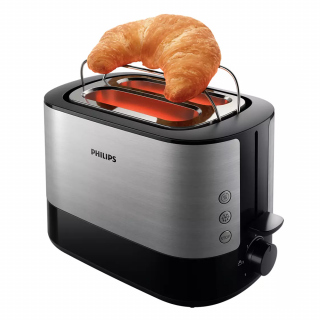 Philips Viva Collection 2 Slots Pop Up Bread Toaster (HD2637)