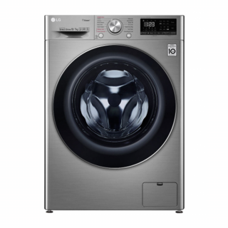 LG 10.5/7kg Front Loading Washing & Dryer Machine (F4V5RGP2T) (Silver)