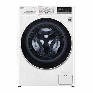 LG Front loading Washing Machine With Dryer (F4V5RGP0W) 10.50/7.00KGS