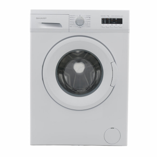 Sharp 7kg Front Loading Washing Machine (ES-FE710CZL-W)