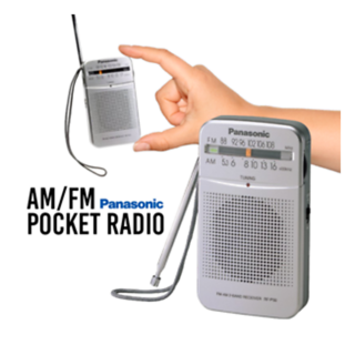Panasonic AM/FM Pocket Radio (RFP50DGC)