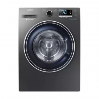 Samsung 9kg (WW90J5456FX/GU) Front Loading Washing Machine (Silver)