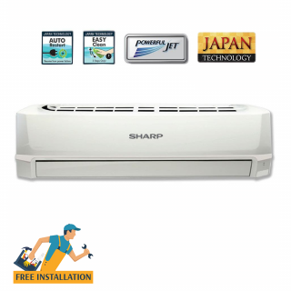 Sharp 1.0 Ton Split Wall Type Air Conditioner (AH-A12SED)