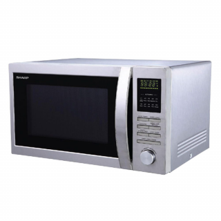 Sharp Double Grill Convection Microwave Oven 25 Ltr. (R-84A0-ST-V)