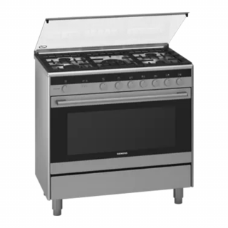 Siemens Gas Cooker With Oven (HG73G8357M) 5 Burner
