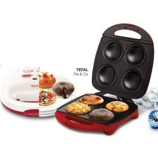 Brand New TEFAL SM222554 PIE & CO Cake, Muffin, Puff  Maker