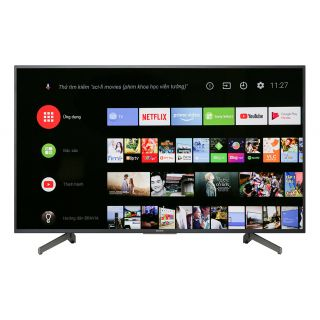 "Sony Bravia 55"" (KD-55X8000G) 4K Android Smart LED Television"